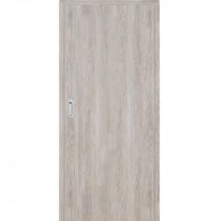 Posuvné dveře do pouzdra Plné Hladké - dub šedý 3D GREKO