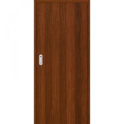 Posuvné dveře do pouzdra Plné Hladké - Ořech 3D GREKO