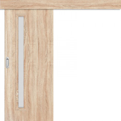 Posuvné dveře na stěnu EKO 1 sonoma 3D GREKO