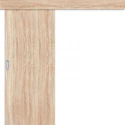 Posuvné dveře na stěnu Plné Hladké - sonoma 3D GREKO
