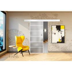 Posuvné skleněné dveře na stěnu GRAF 17