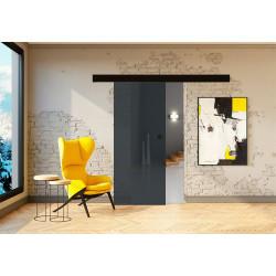 Posuvné skleněné dveře na stěnu GRAF 26