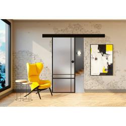 Posuvné skleněné dveře na stěnu GRAF 32