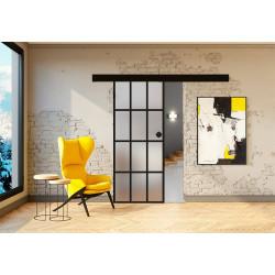 Posuvné skleněné dveře na stěnu GRAF 35