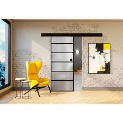 Posuvné skleněné dveře na stěnu GRAF 6