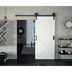Kovaný posuvný systém na stěnu Design Line - IZYDA
