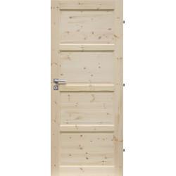 Dřevěné dveře PRAGUE PN