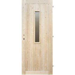 Palubkové dveře 1S prosklené