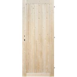 Palubkové dveře PN plné