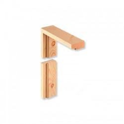 Dřevěné rámové zárubně - sukové